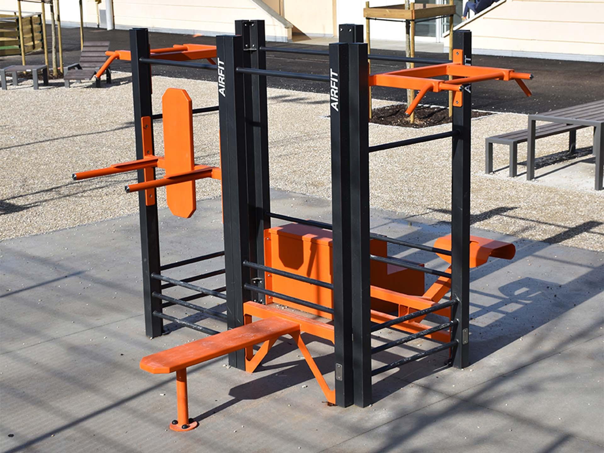 Photo de l'équipement de fitness en plein air de Saint Julien en Genevois