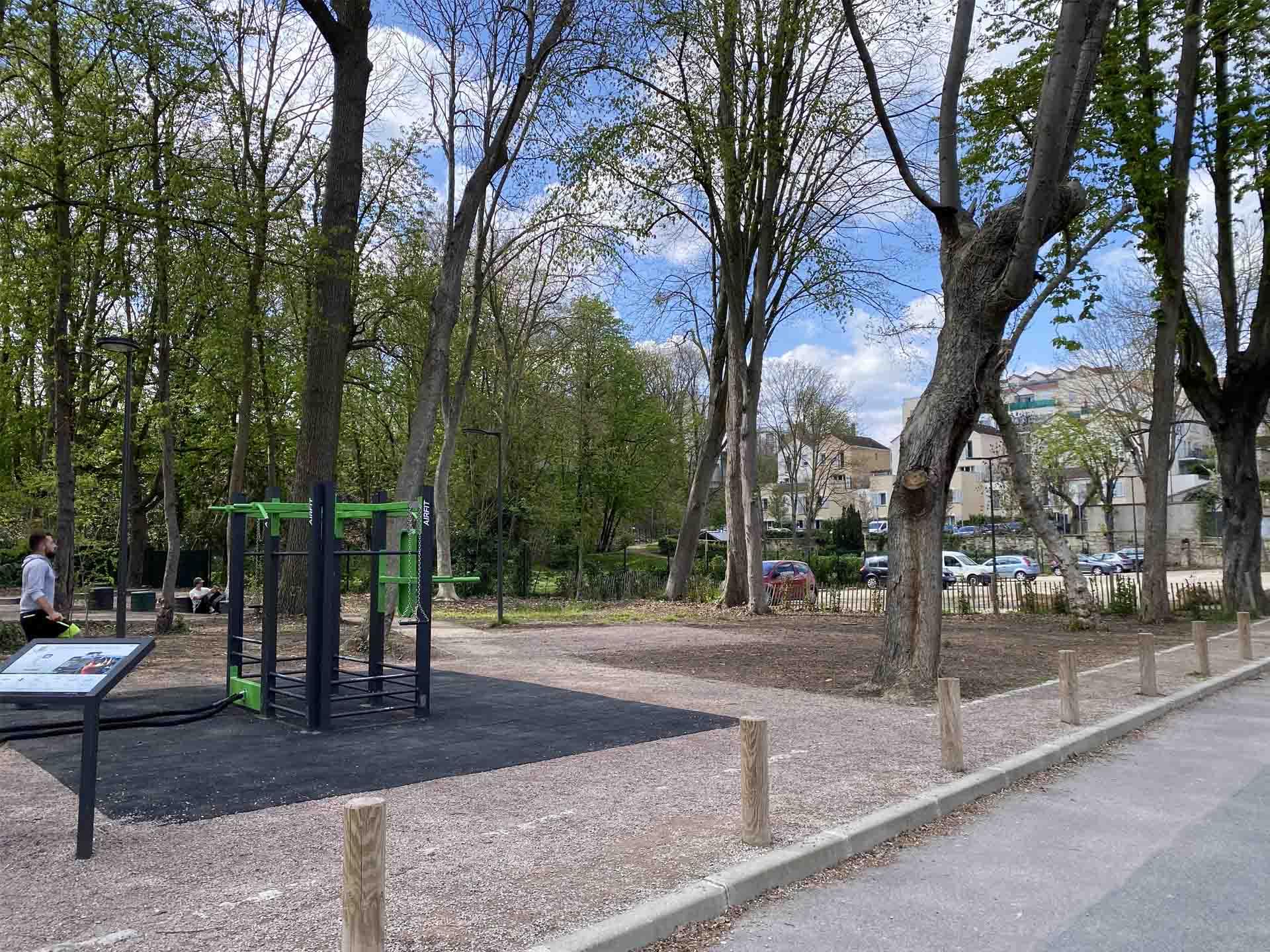 Photo de l'aire de fitness en extérieur AirFit de Maisons-Laffitte