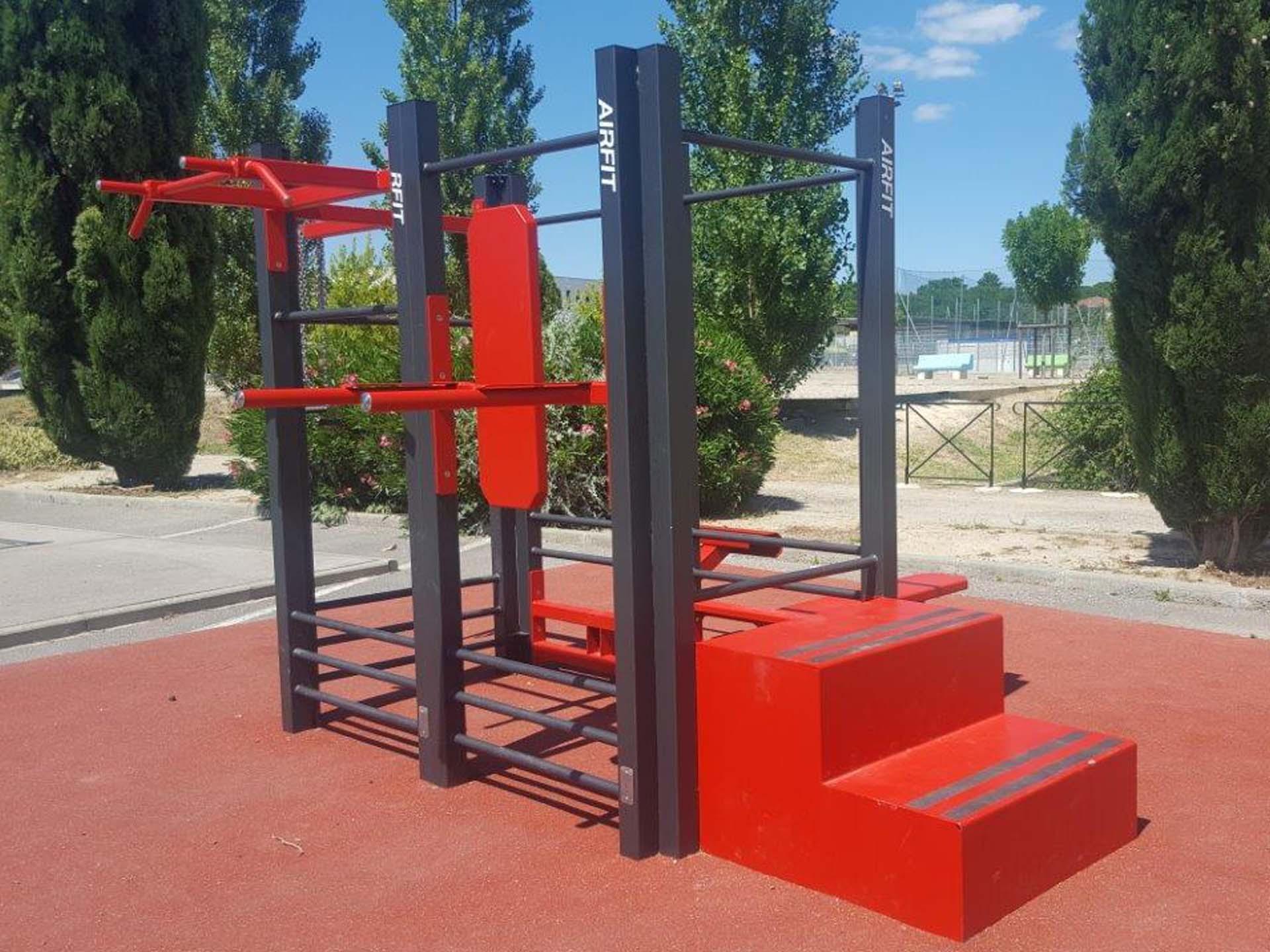 Photo de l'équipement sportif en plein air à côté du city park de Saint Georges d'Orques