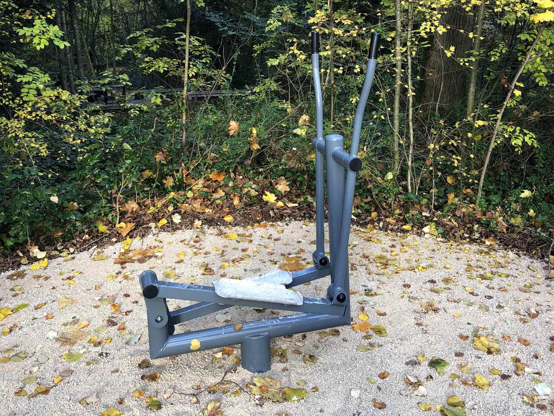 Photo du vélo elliptique AirFit du parcours santé de Beaune
