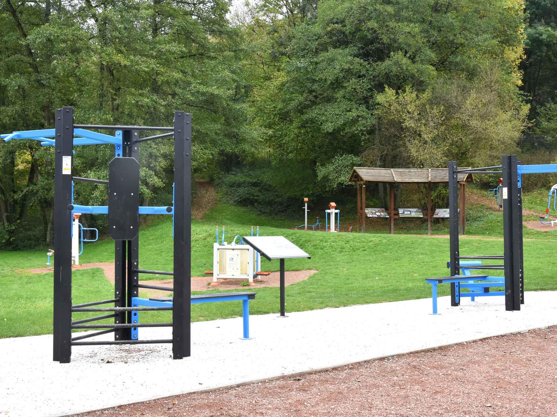 Photo du plateau sportif en accès libre de Rombas