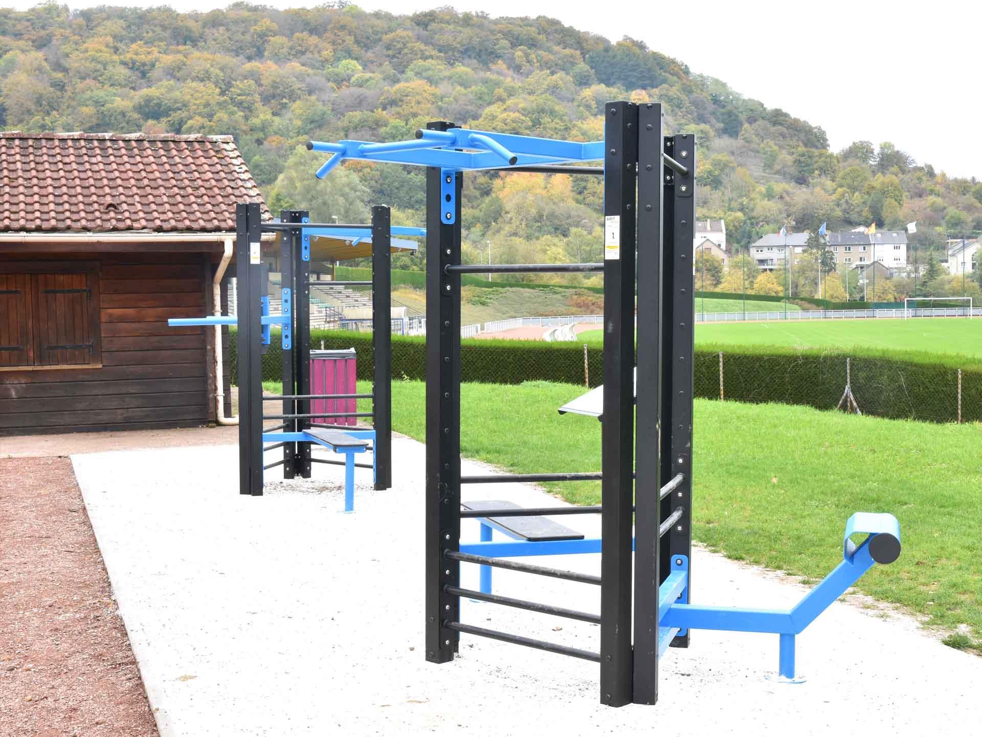 Photo des équipements sportifs connectés en accès libres de Rombas
