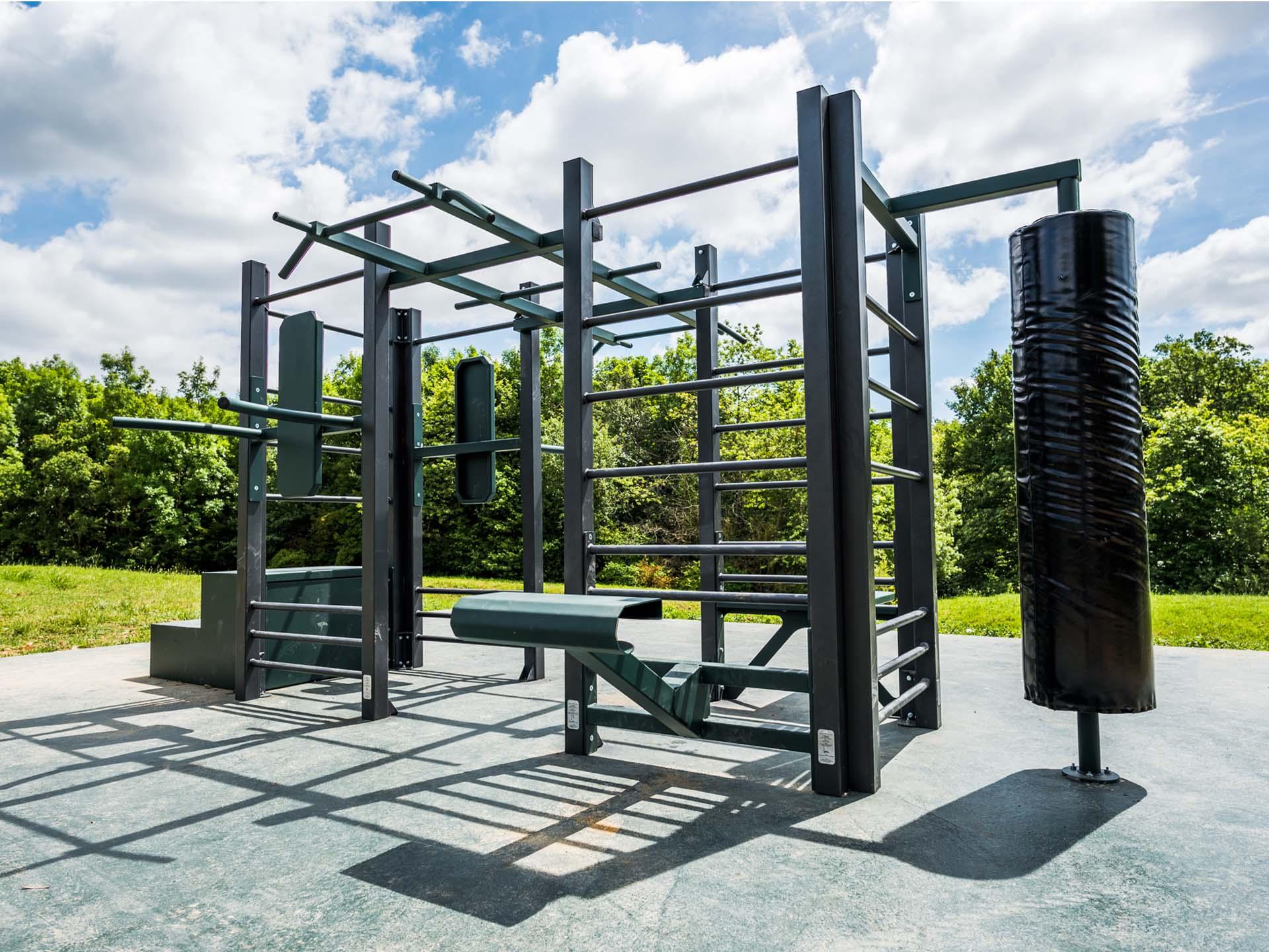 Photo de l'aire de fitness en plein air de Saint-Cyr-l'École