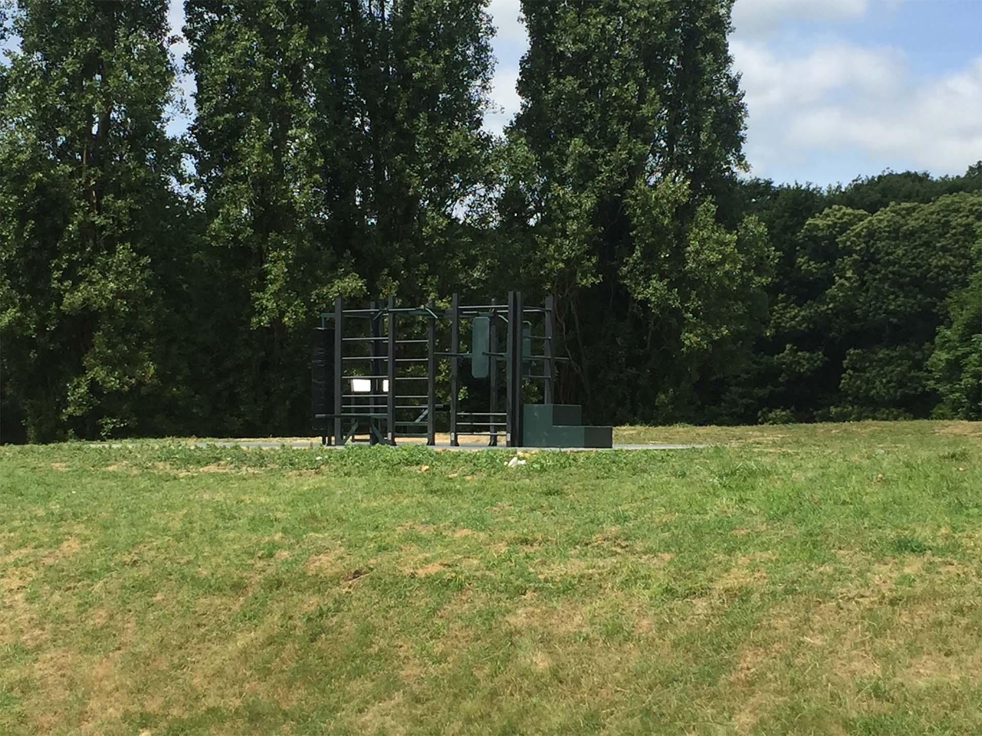 Photo d'une aire de sport à Saint-Cyr-l'école