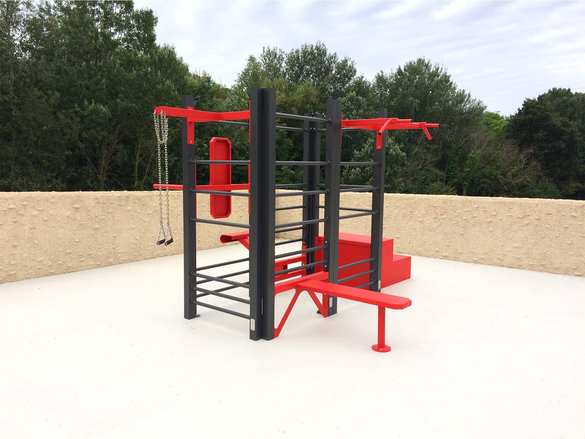 Photo de l'aire de fitness en extérieur AirFit de Carpentras