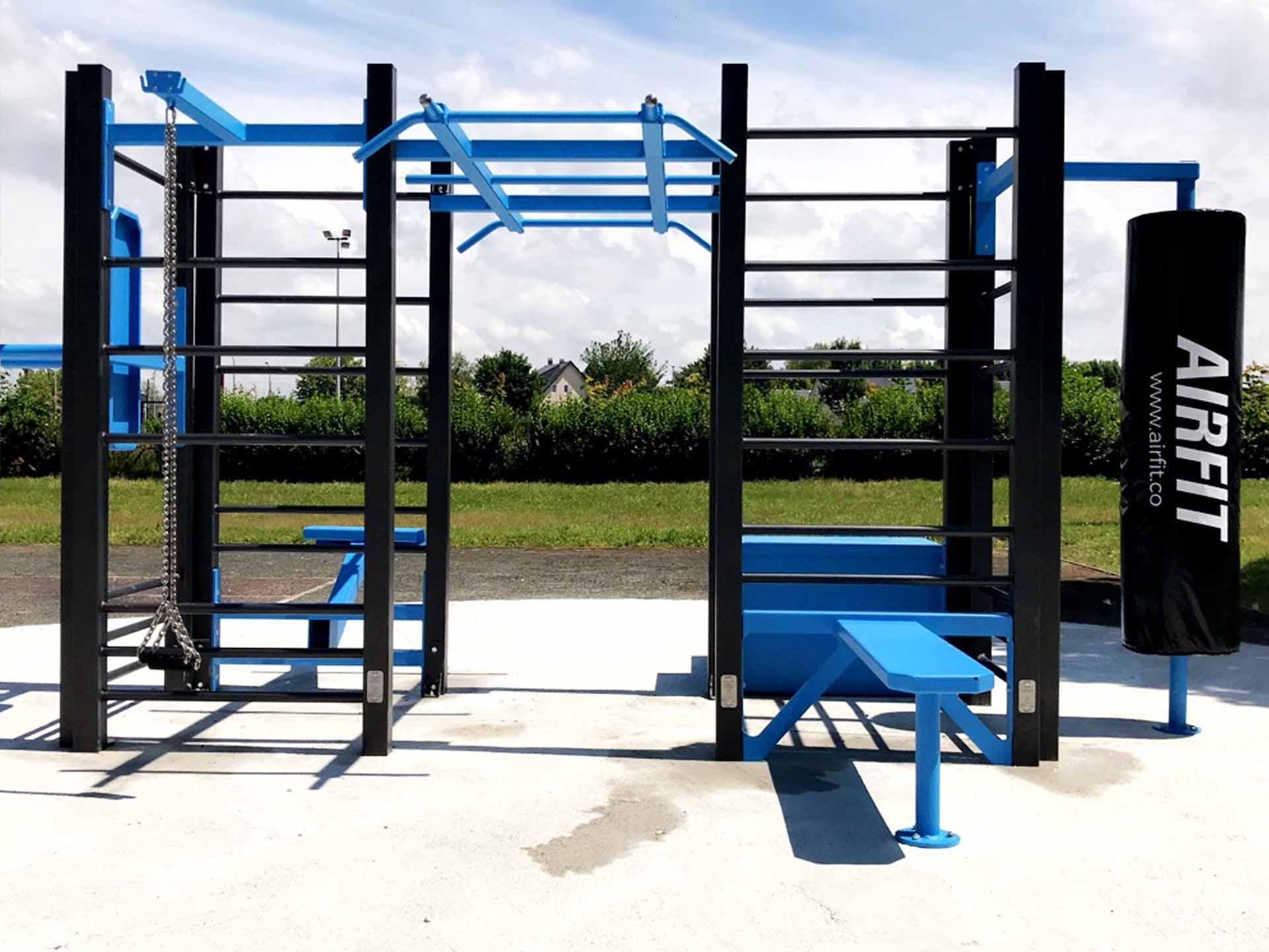 Photo de l'aire de sport en plein air à Mormant - gymnase Jacques Coutrot