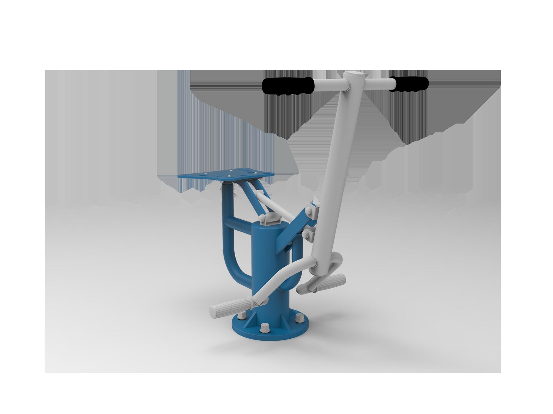 3D de l'Agrès Guidé nommé Cavalier