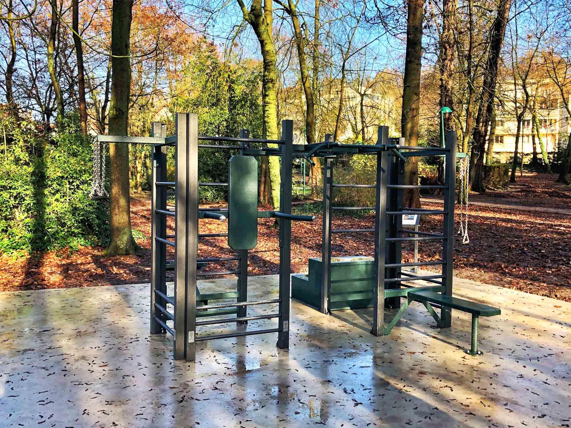 Photo de la Station de Cross-Training dans le Parc des Oiseaux à Taverny