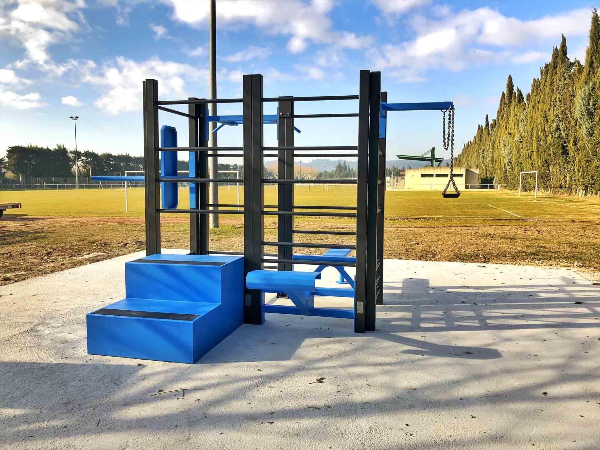 Photo de l'aire de Fitness en extérieur AirFit de Graveson - Stade de la Roulade