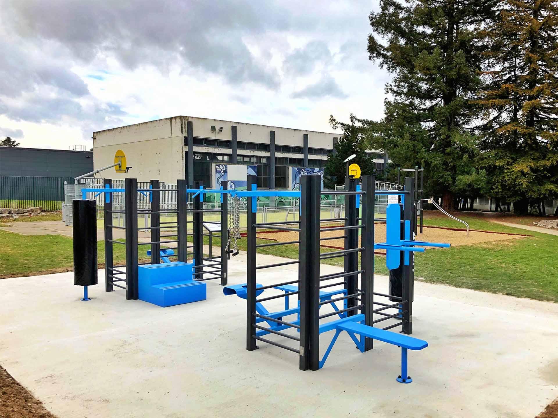 Photo de l'aire de fitness en extérieur et en accès libre AirFit de Vernon