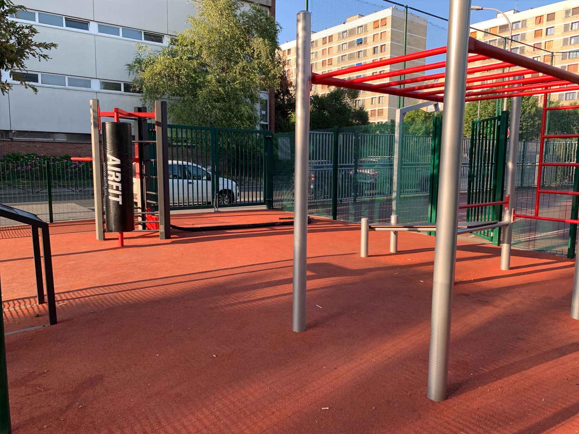 Photo de l'aire de Fitness avenue du Maréchal de Lattre de Tassigny - Meudon
