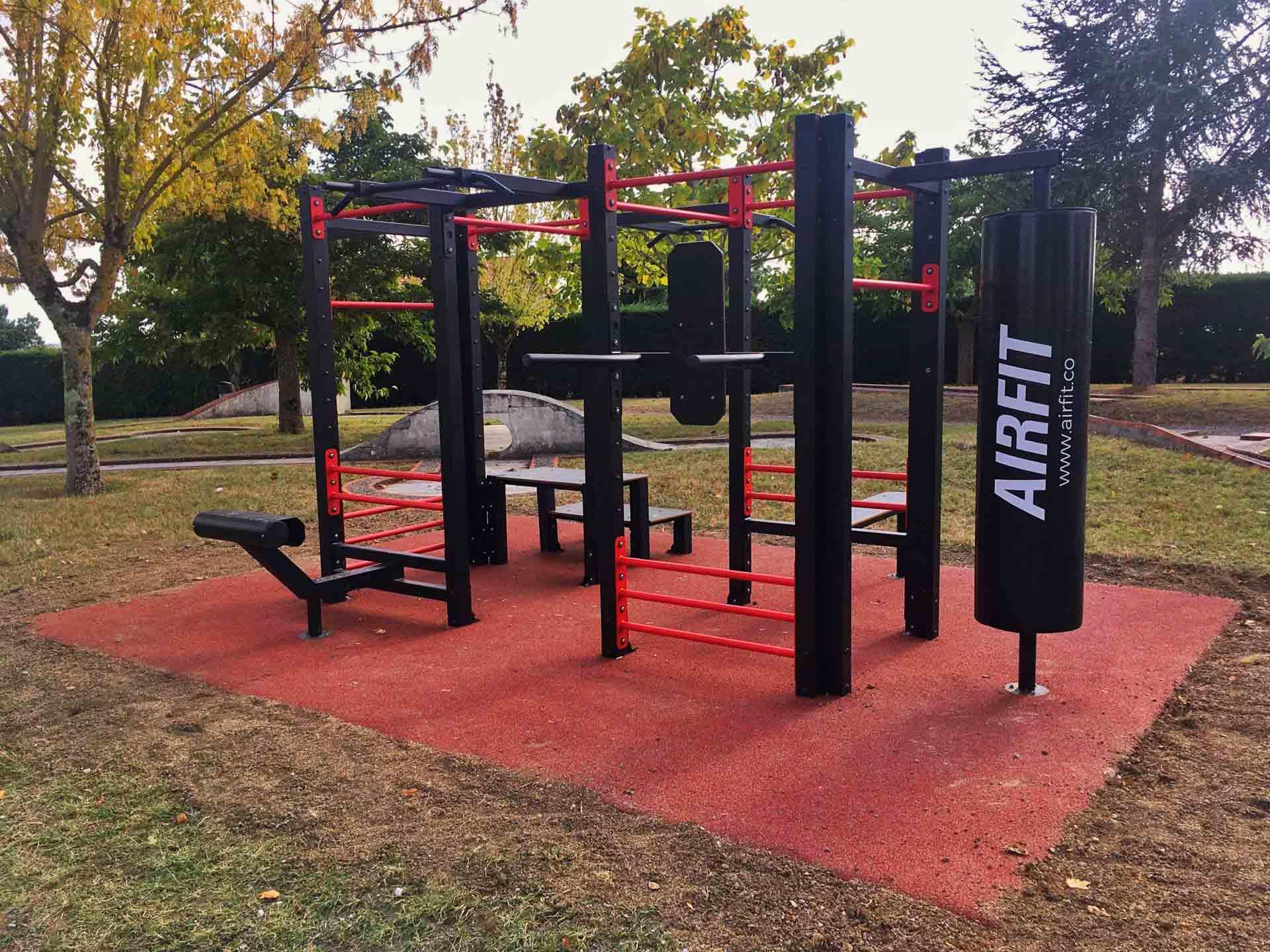 Photo de l'aire de fitness en extérieur AirFit de Rouffiac Tolosan