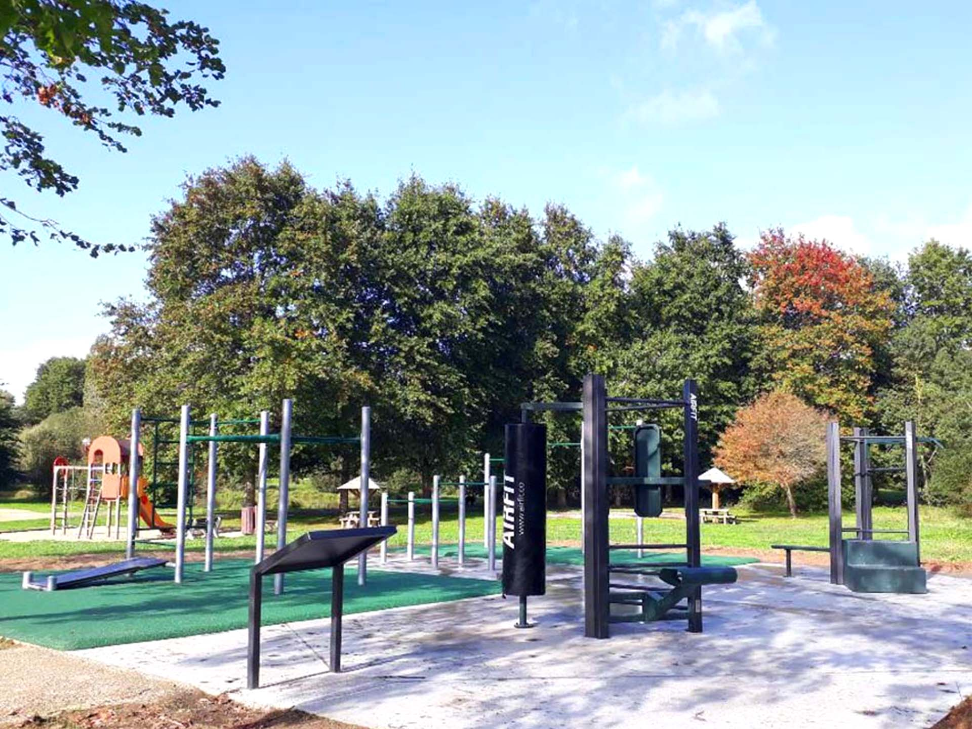 Photo du Plateau sportif du Parc le Charbonneau à Carquefou