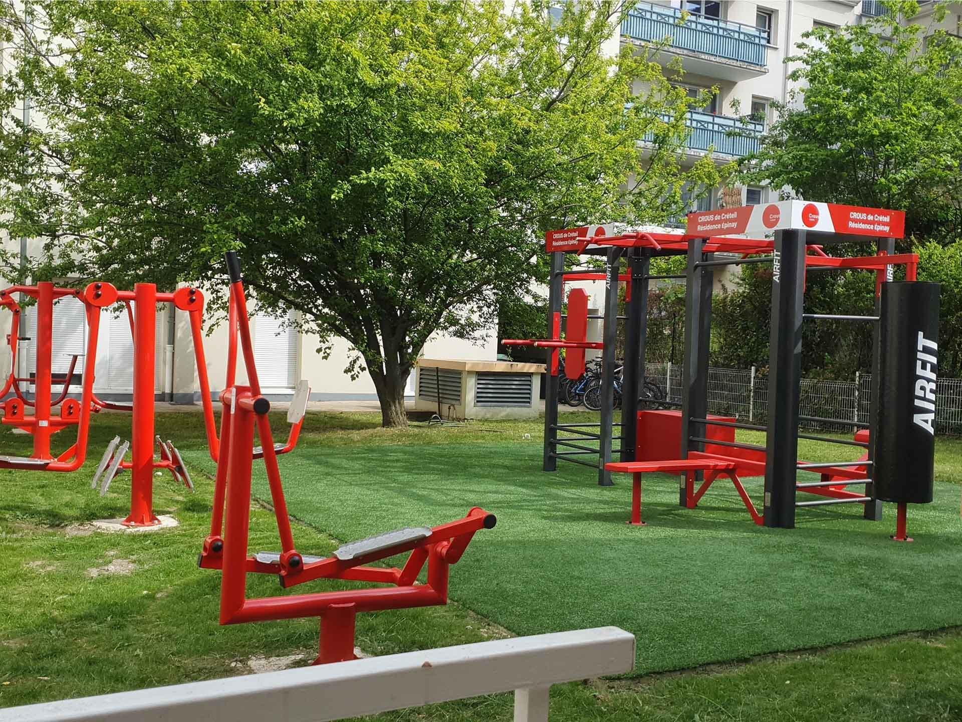 Photo de l'aire sportive en accès libre à Epinay sur Seine