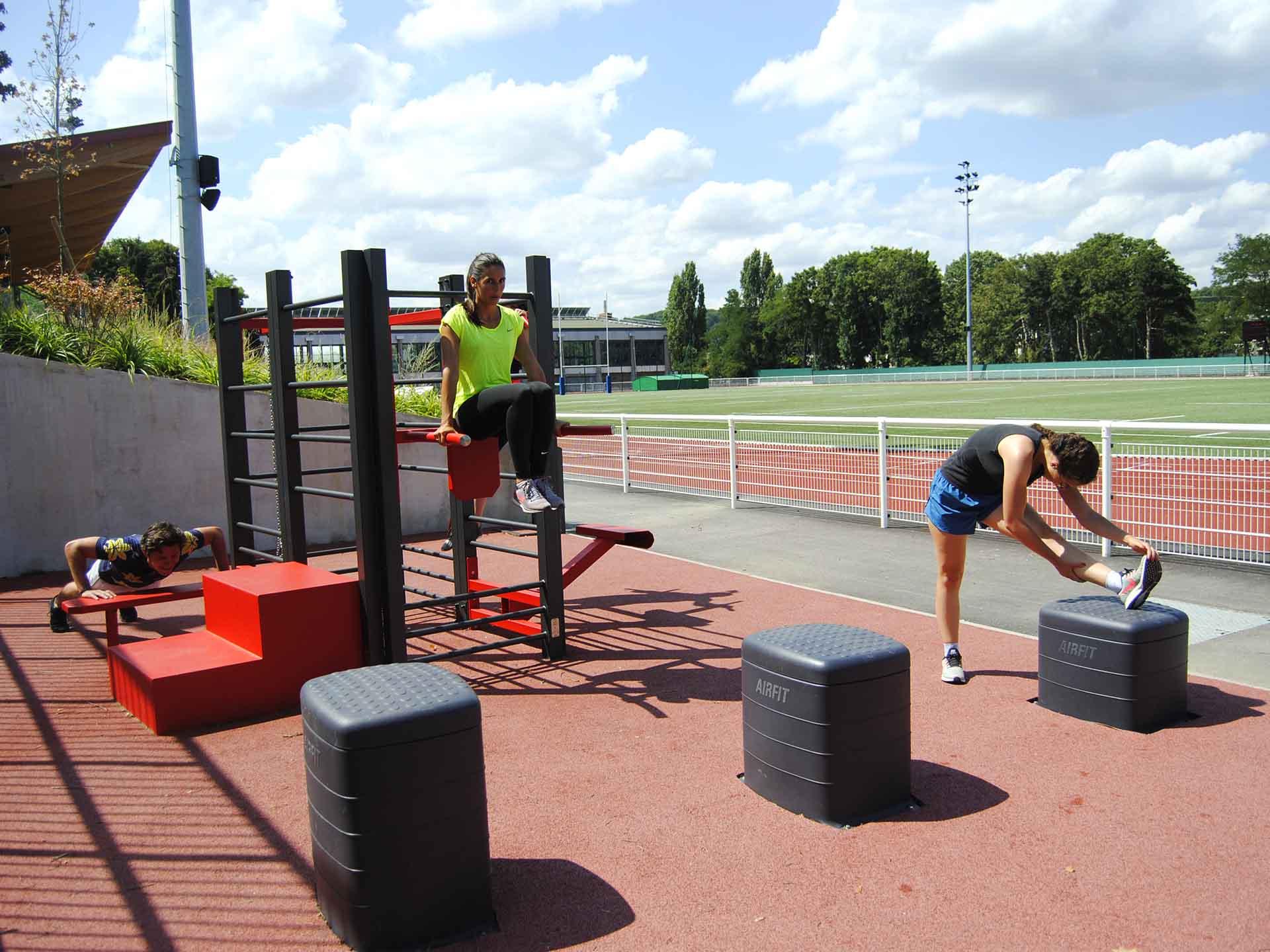 Photos des équipements de sport en extérieur AirFit à René le Duc - Meudon