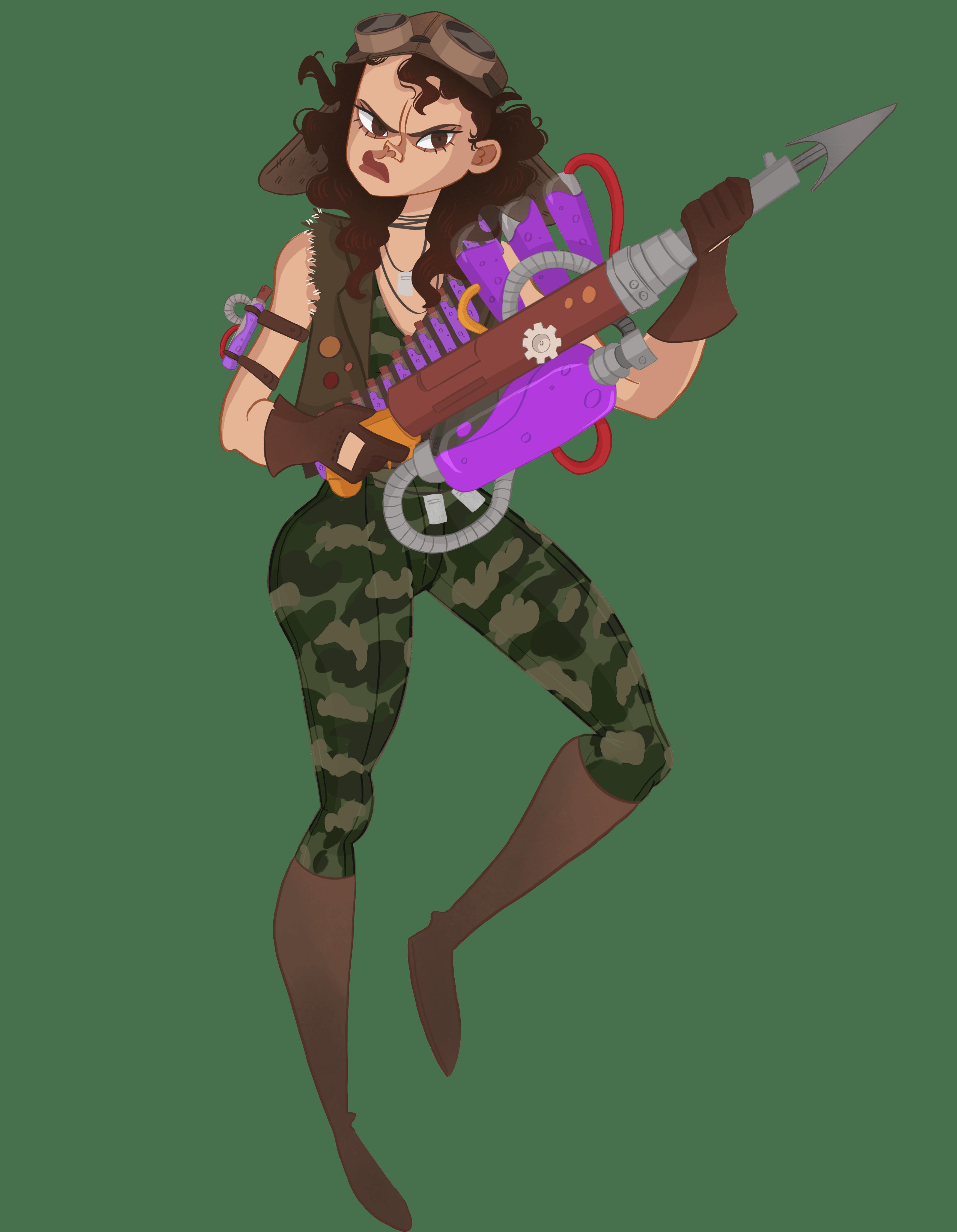 Gunner Sergeant Hildegard Mantis