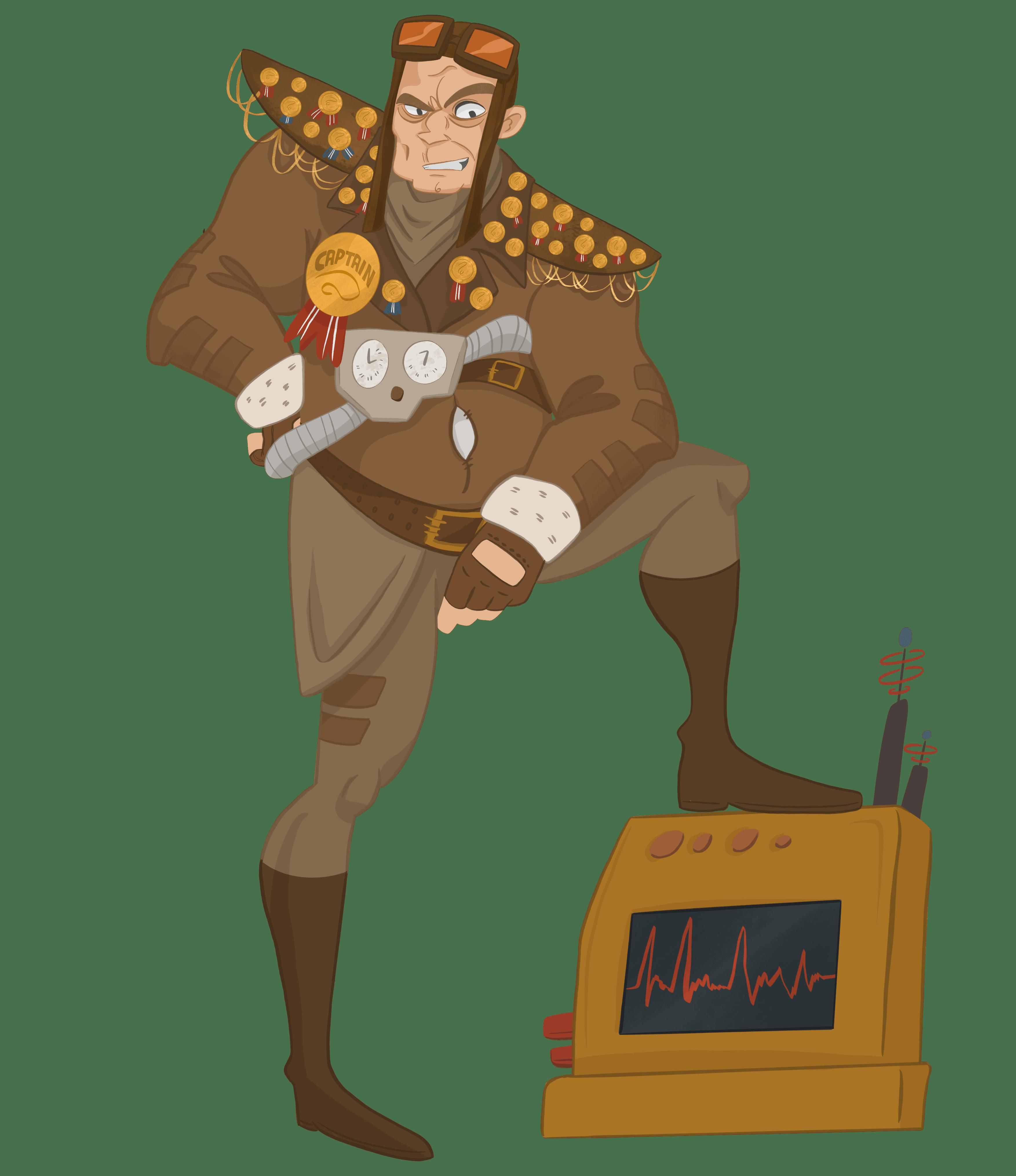 Captain Lance Boron Helium