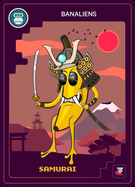 Banalien NFT - Samurai