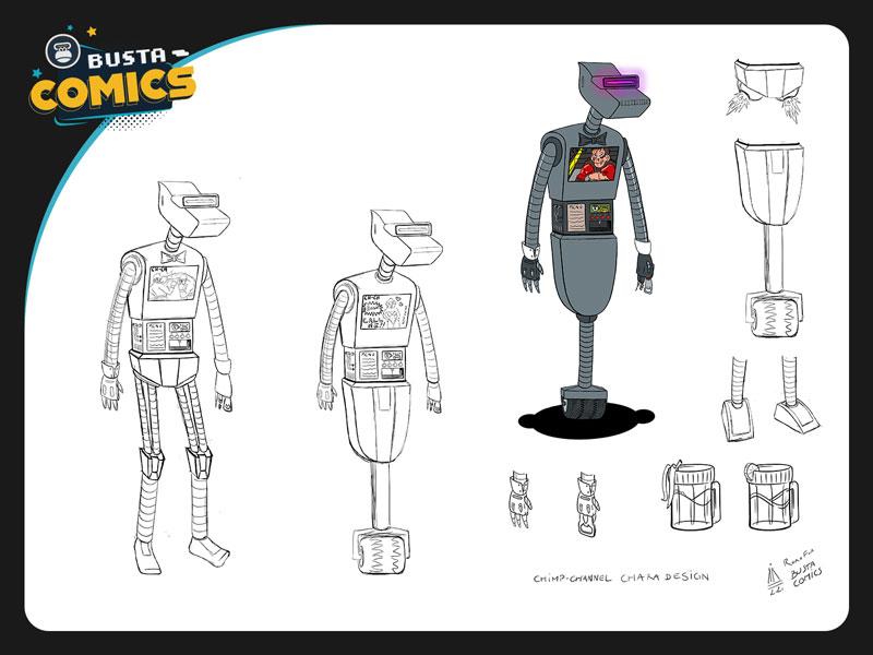 Robot Bartender Character Sheet