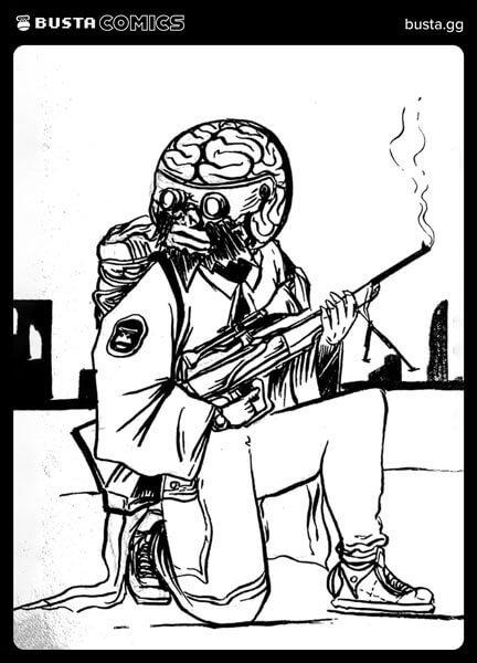 Busta Comics Fan Art 8