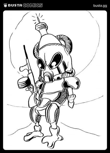 Busta Comics Fan Art 3