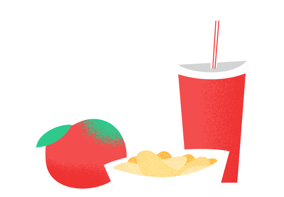 Illustration - snacks