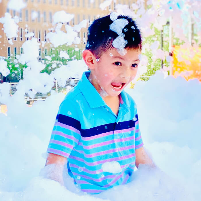 Does a foam party ruin your clothes?