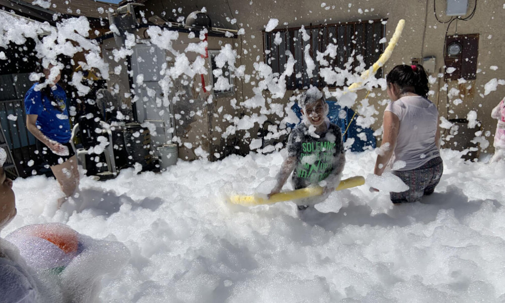 How much does a foam party cost?