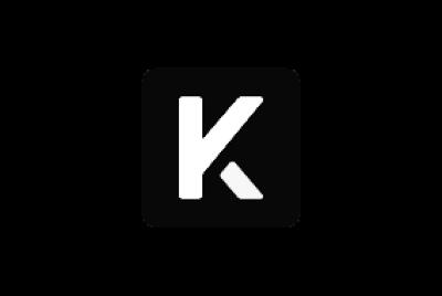 Kicks Digital Marketing logo in black and white