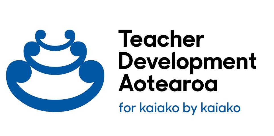 Teacher Development Aotearoa - new koru logo
