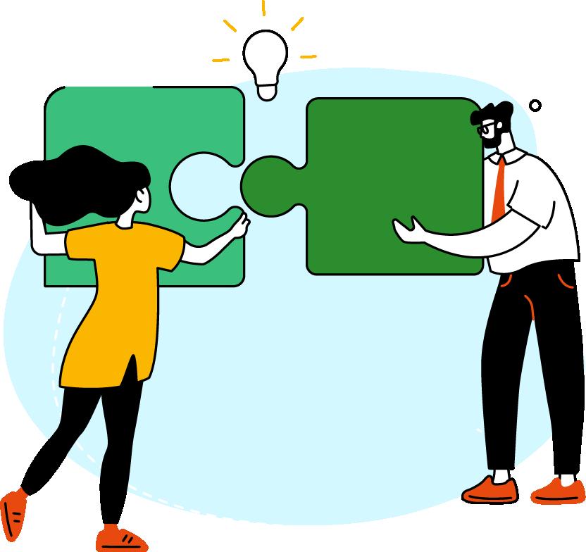 Teacher Development Aotearoa - illustrated teachers and kaiako learning and teaching together