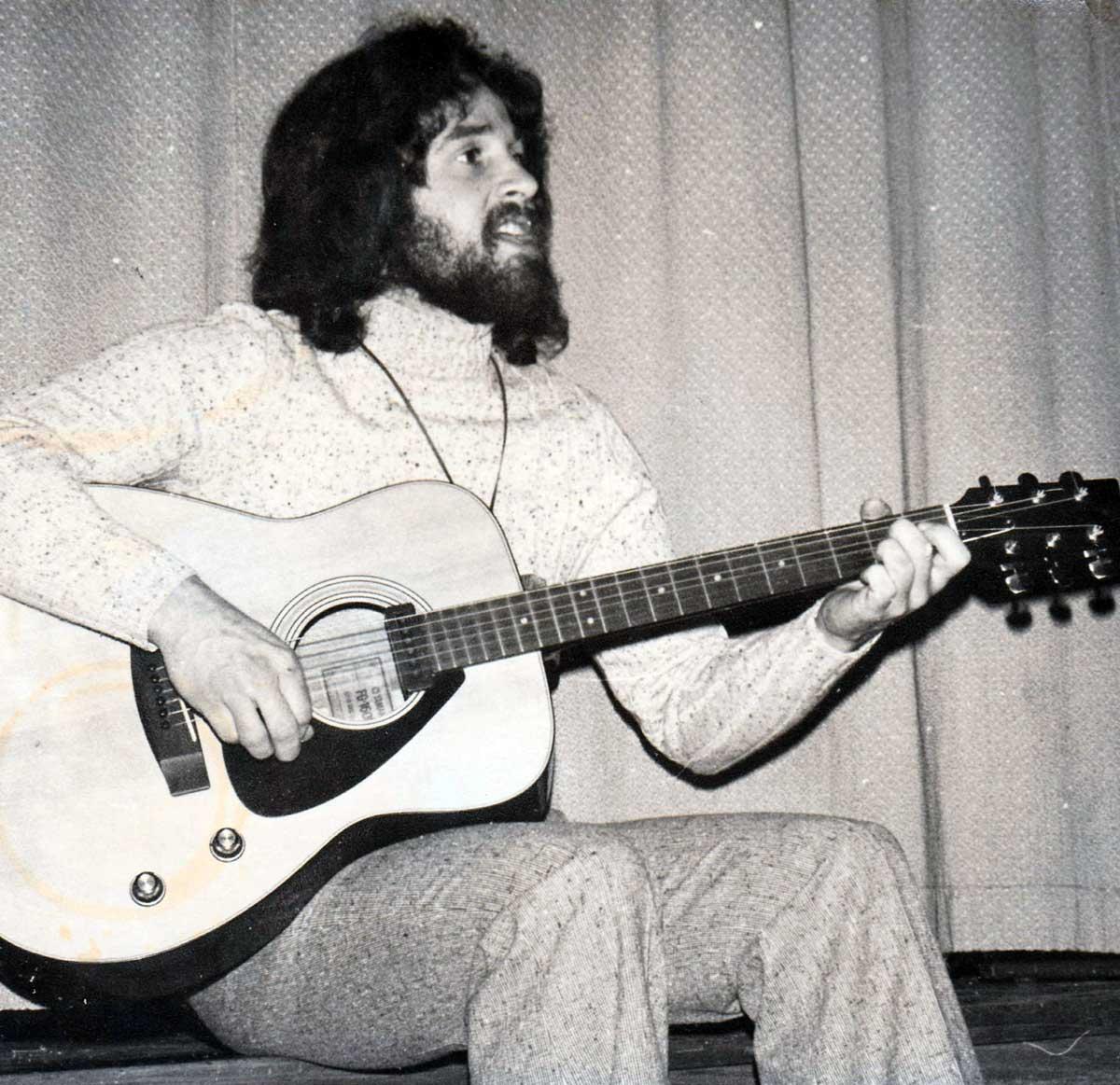 Jeff Acoustic in '71
