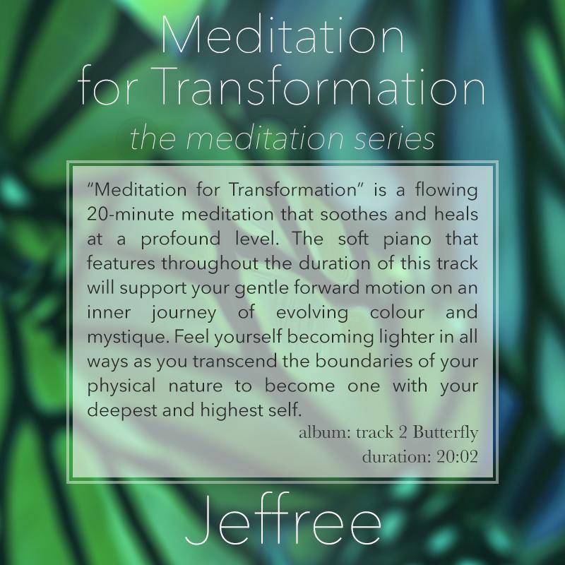 Meditation for Transformation