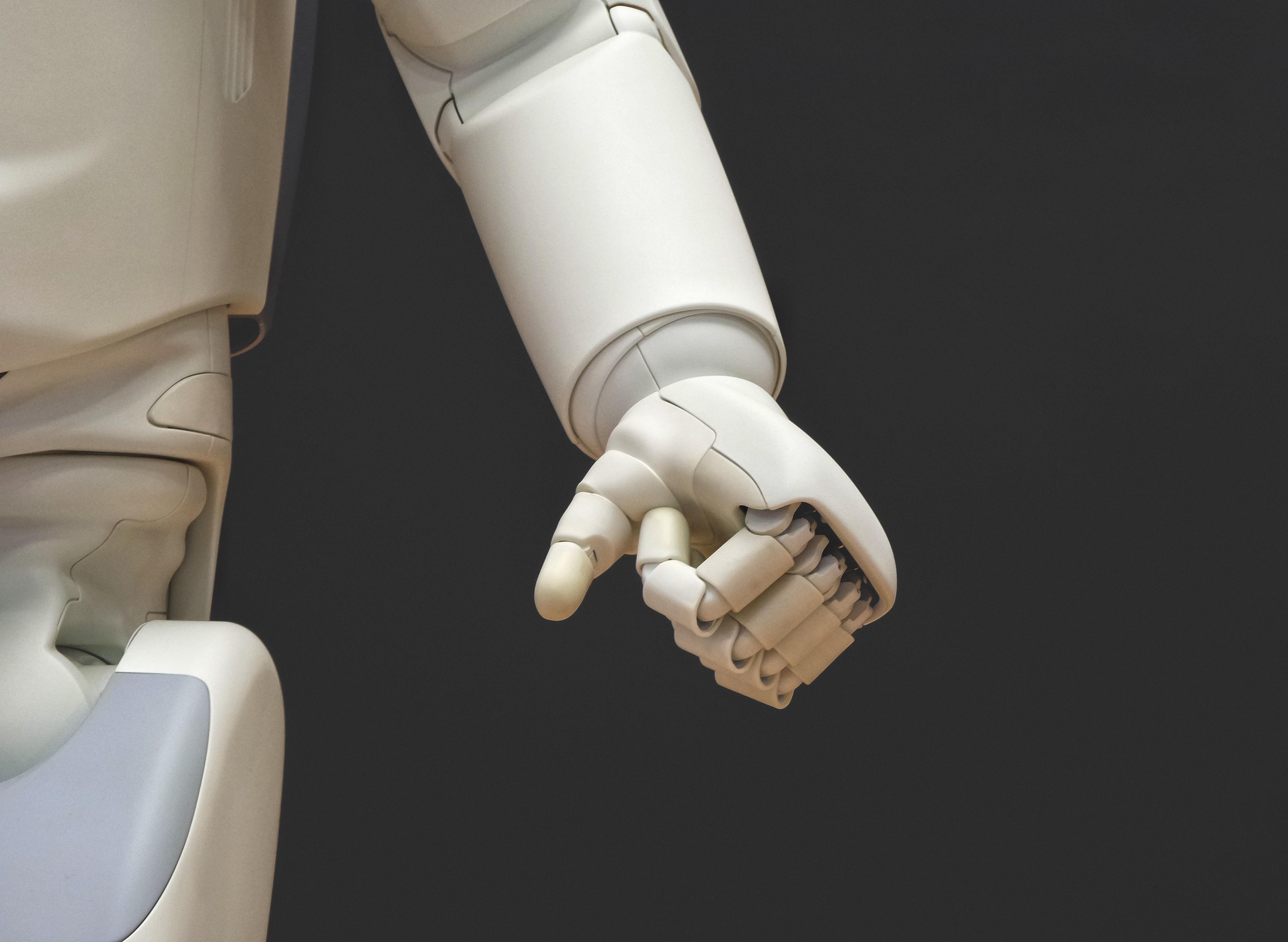 Le bras d'un robot