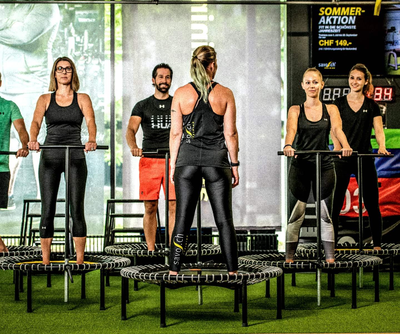 Savo.ch - Group Fitness Training
