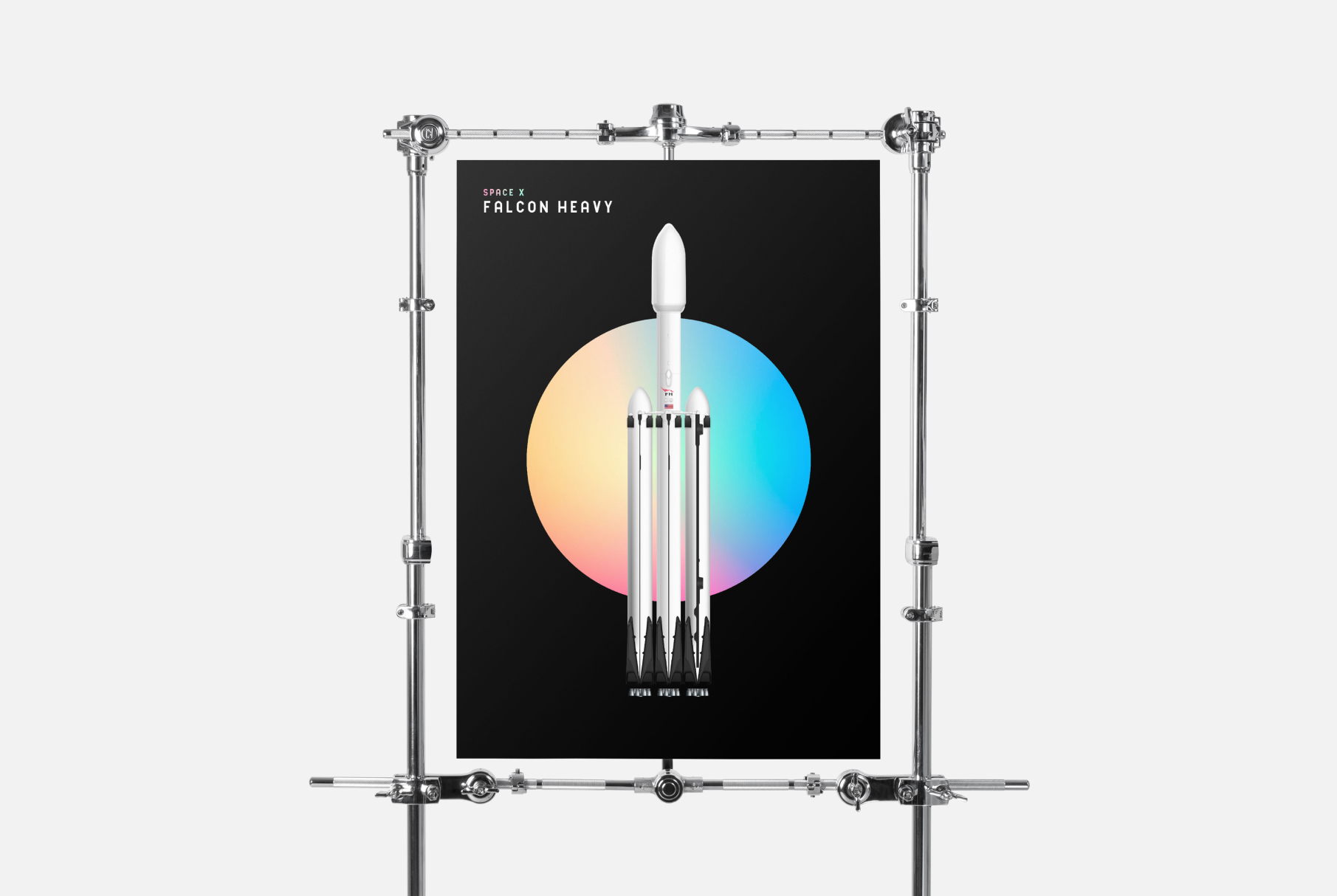 Space X Poster