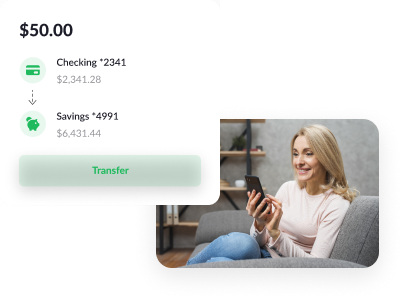 checking to savings card