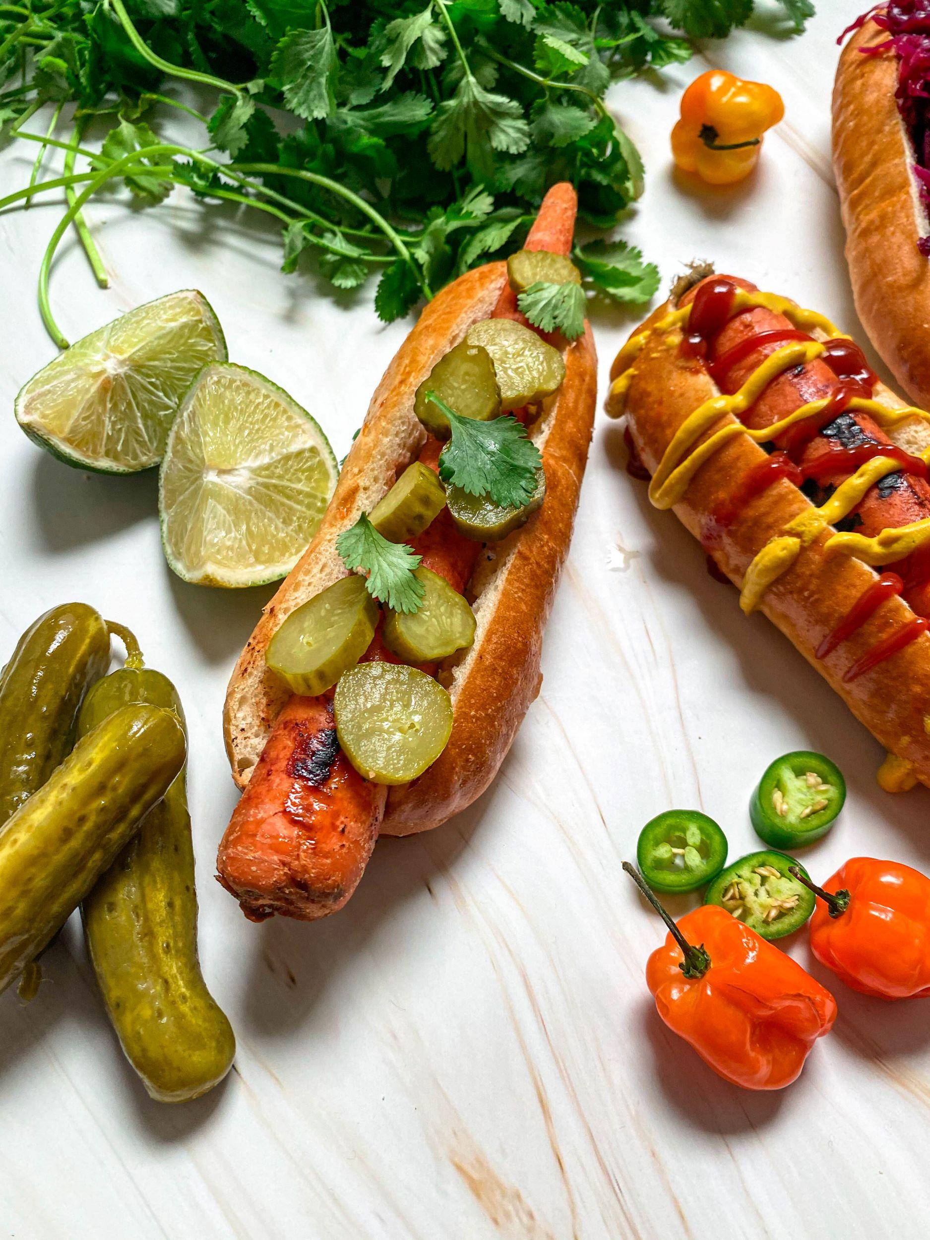 Easy Vegan Carrot Dogs