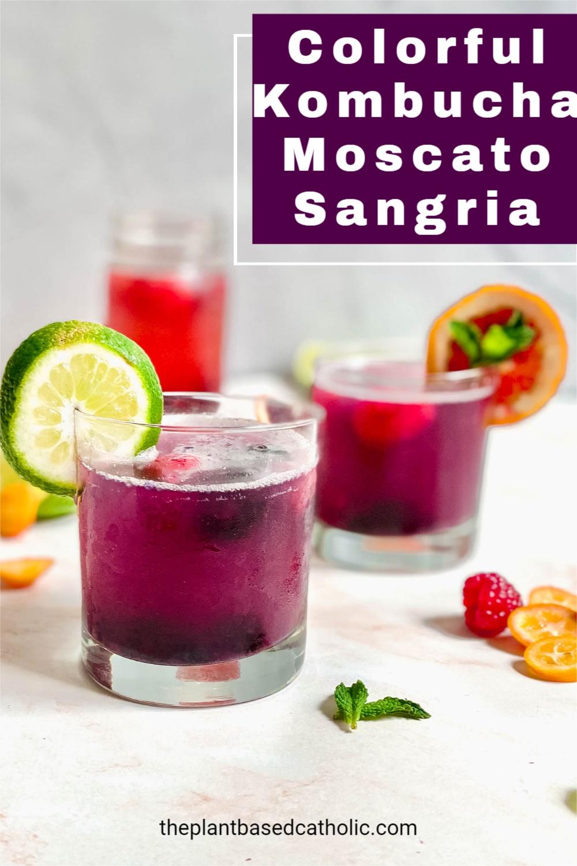 Colorful Kombucha Moscato Sangria