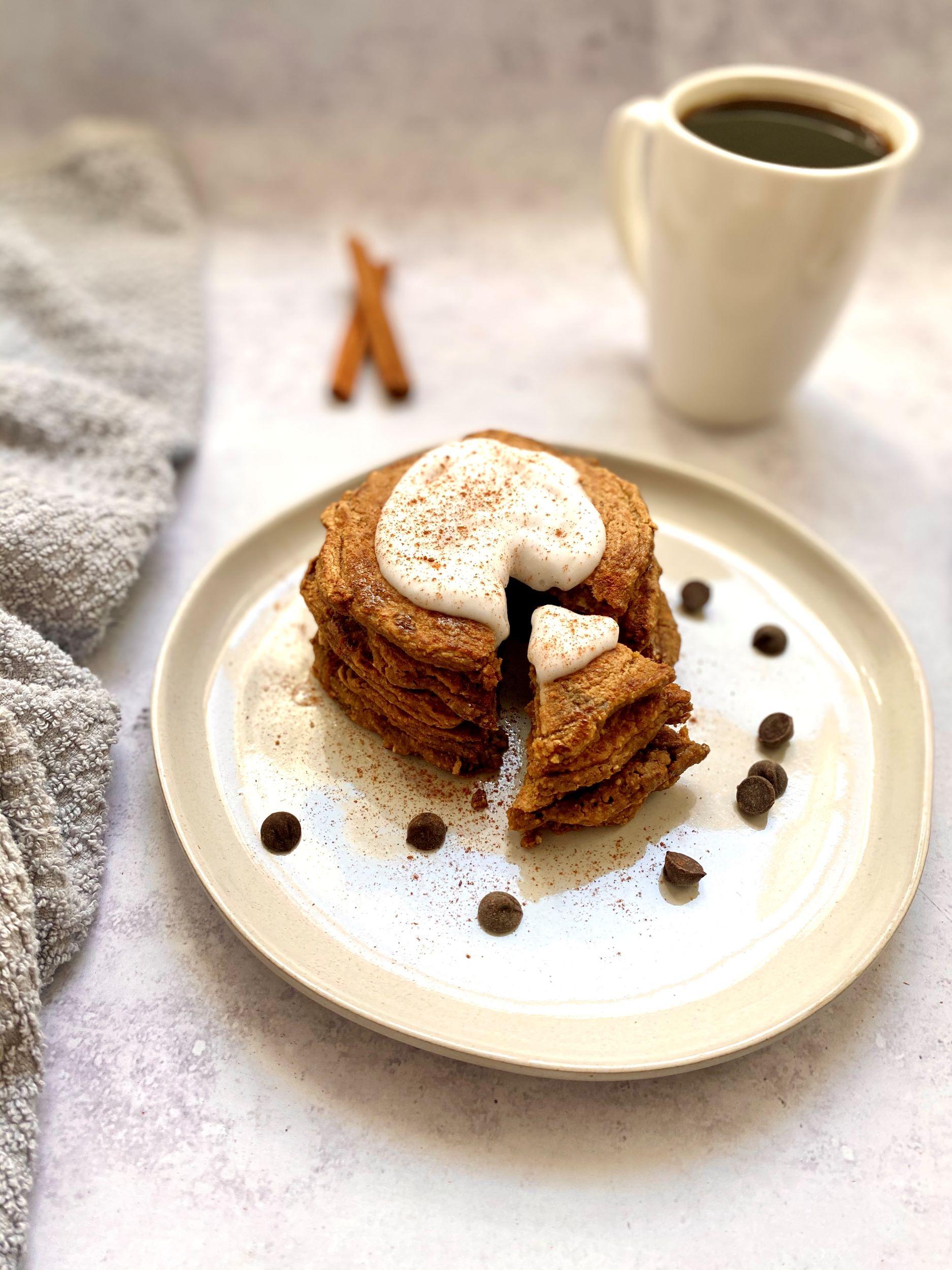 Dirty Chai Latte Pancakes