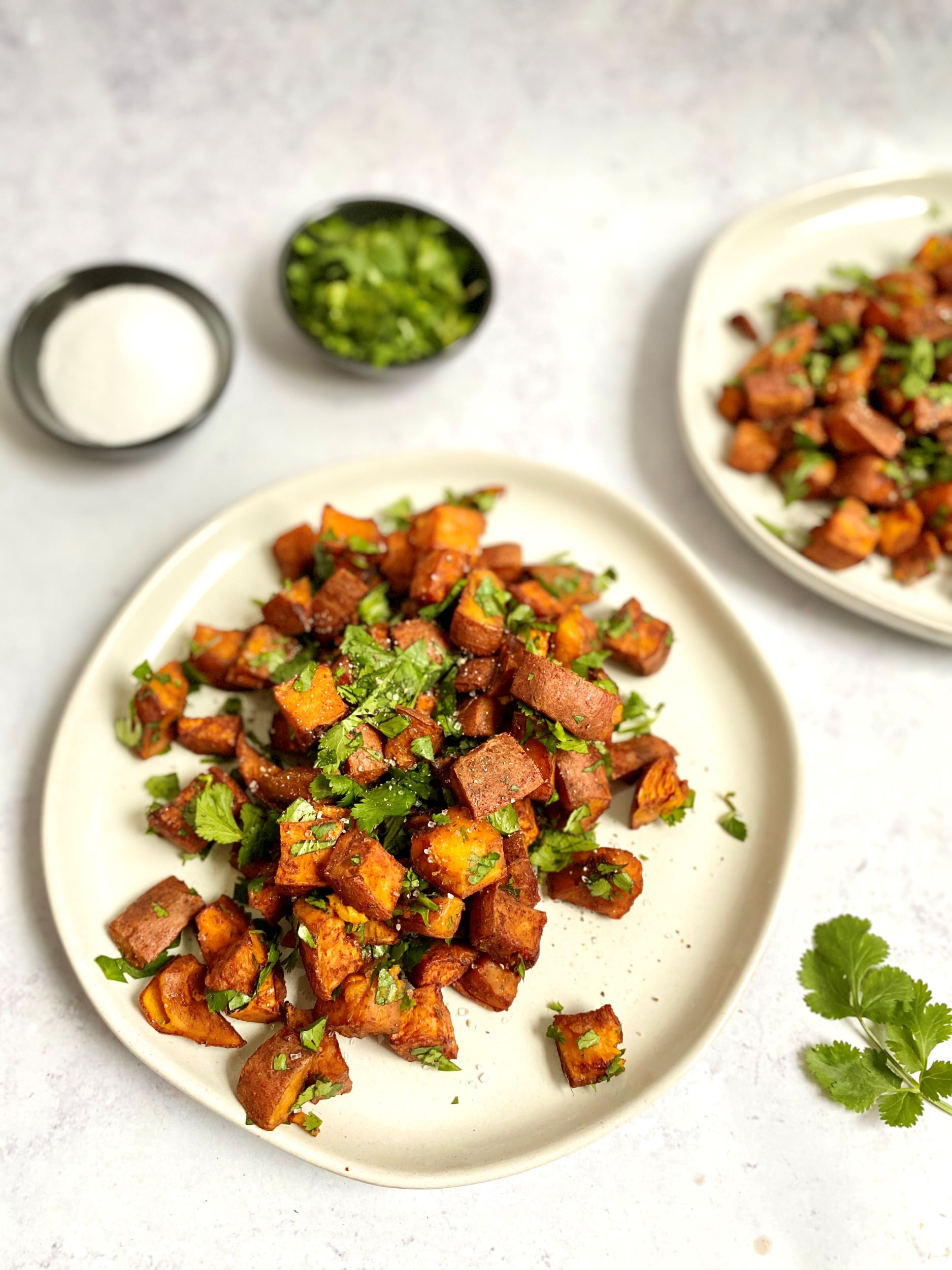 Date-Glazed Spicy Sweet Potatoes
