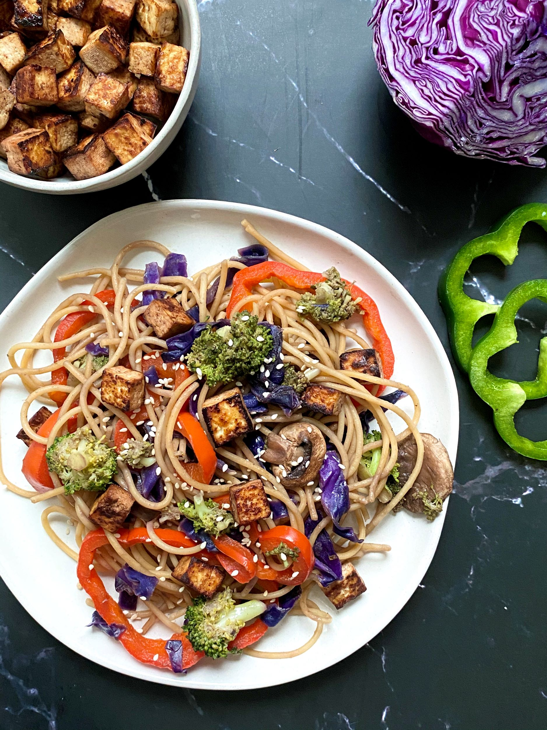 Plant-Based Lo Mein