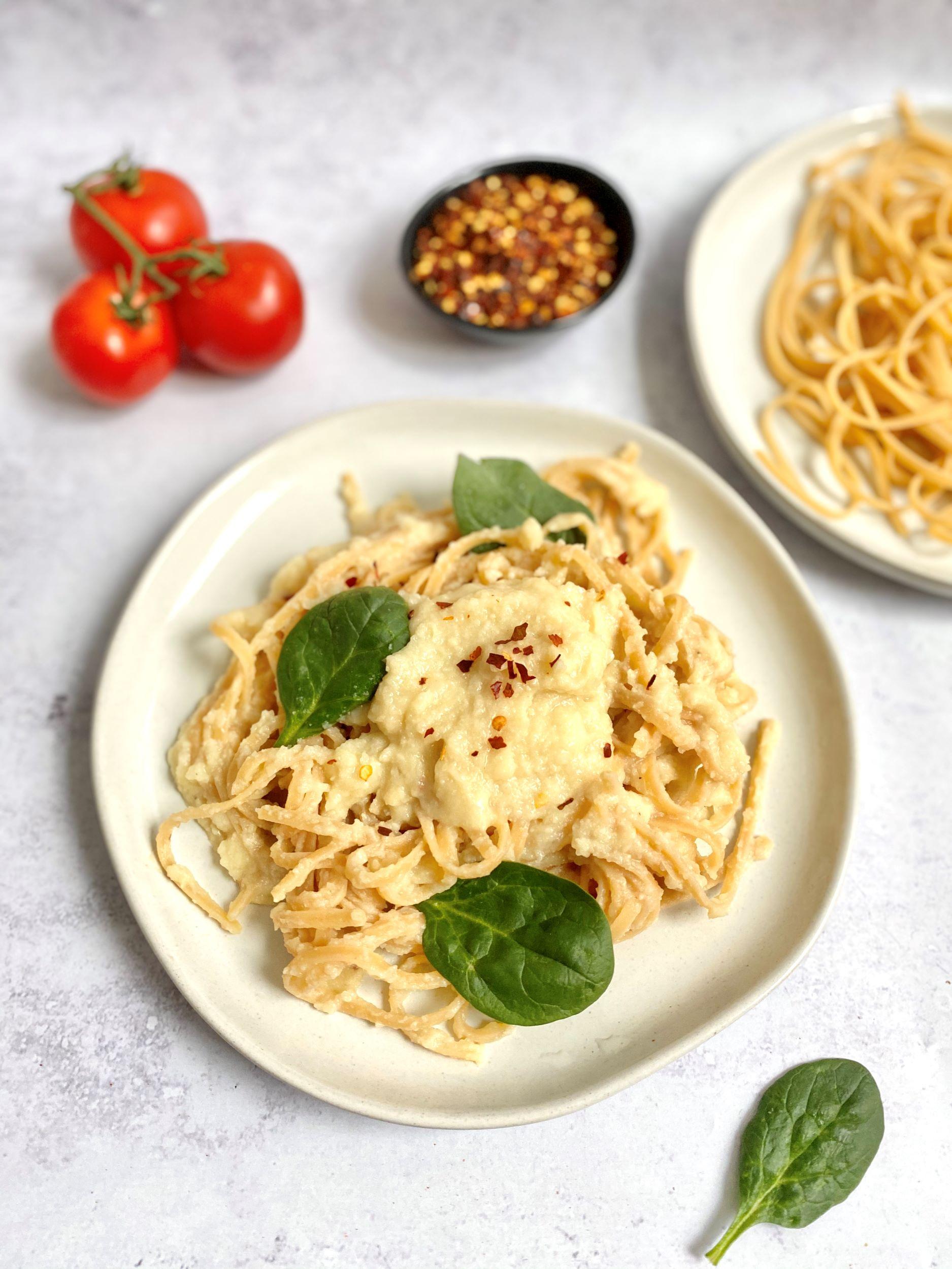 Plant-Based Cauliflower White Sauce