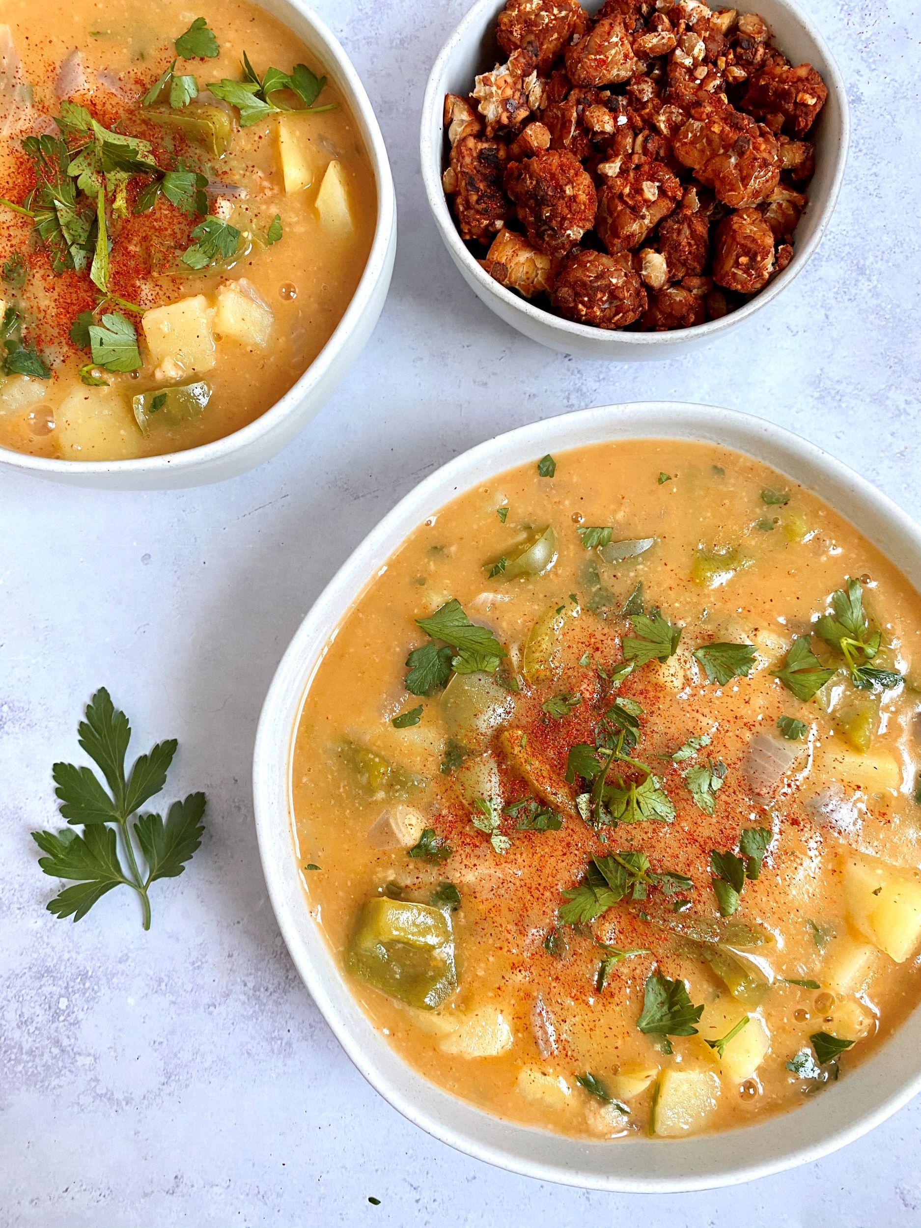Plant-Based Hungarian Potato Soup