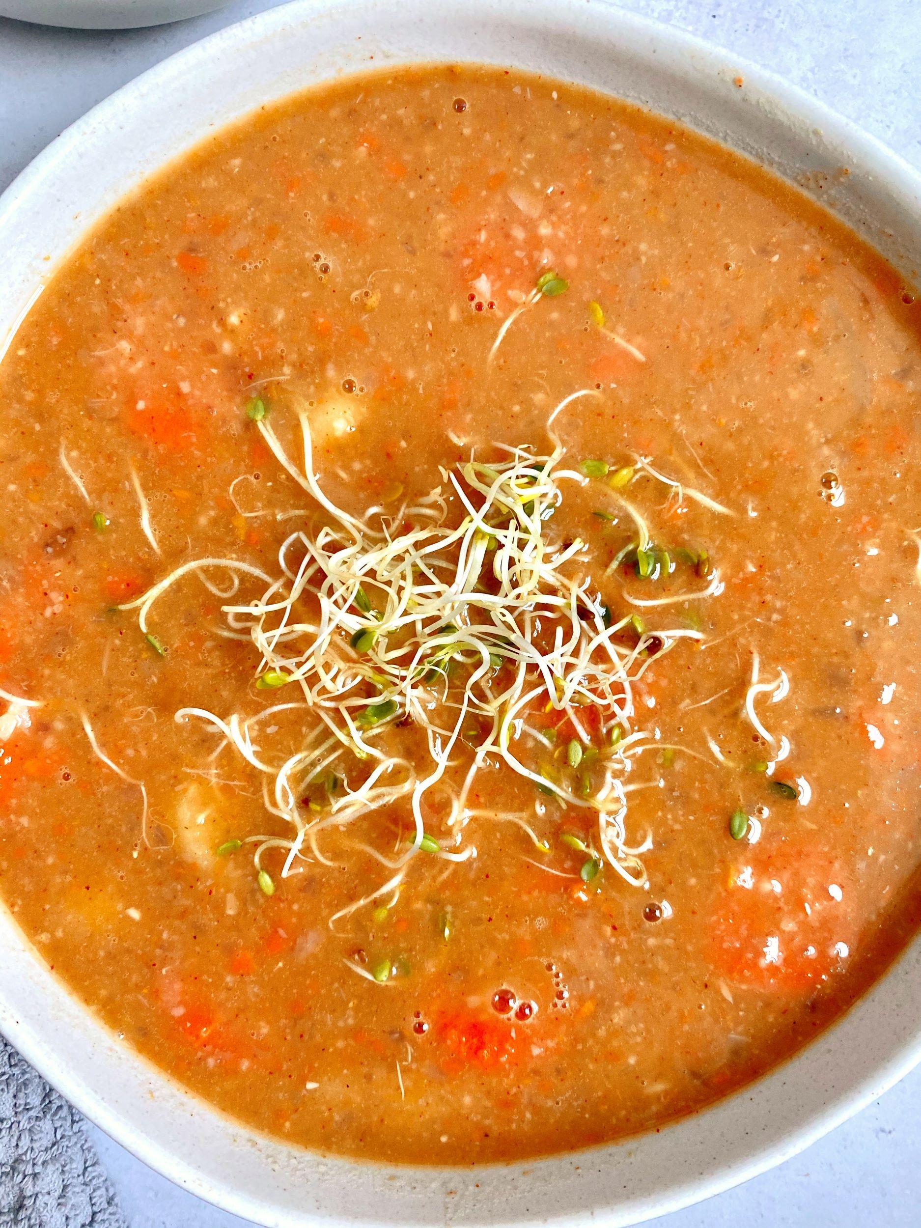 Hungarian Pinto Bean Soup