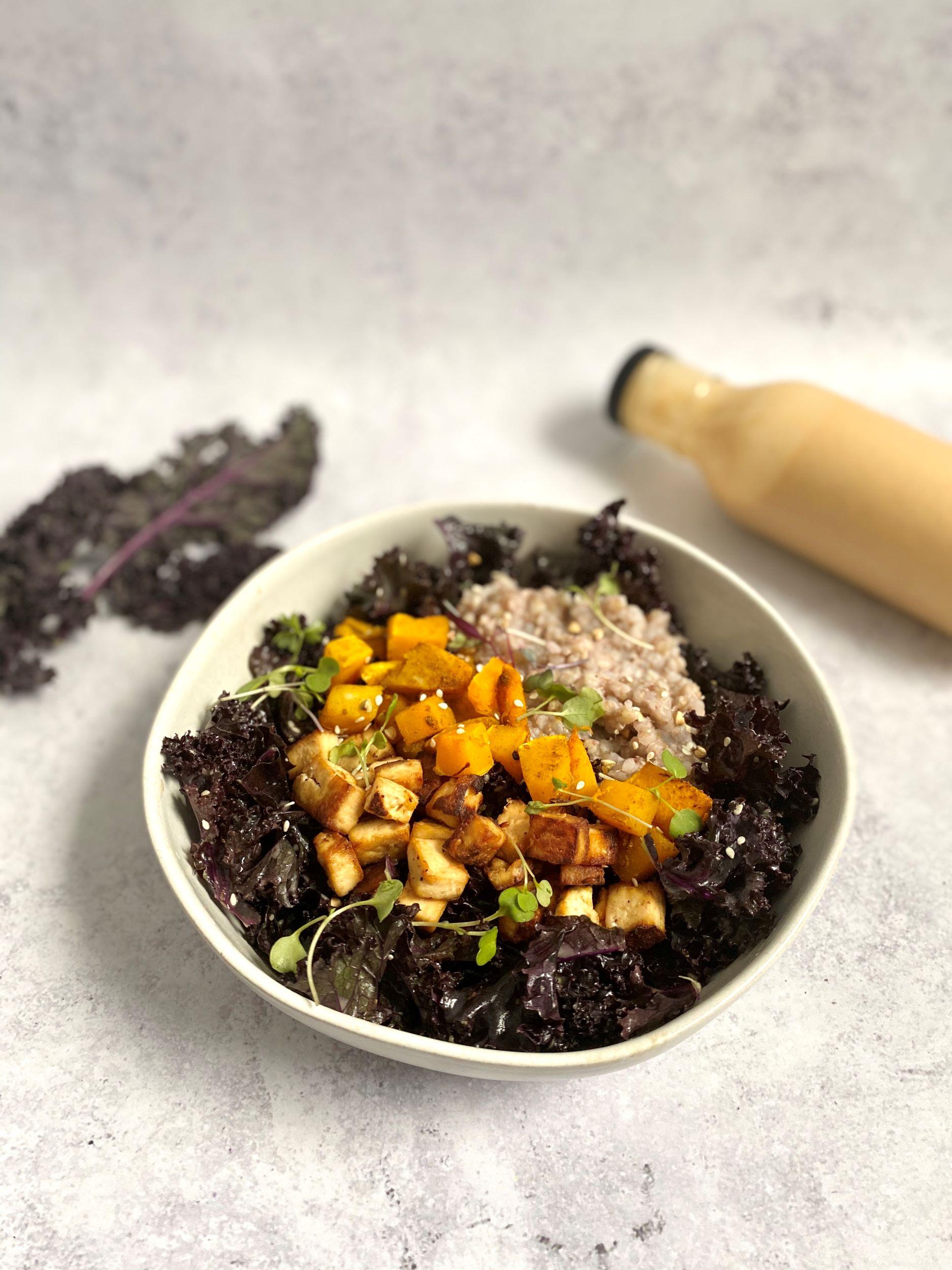 Miso Mustard Protein Bowl