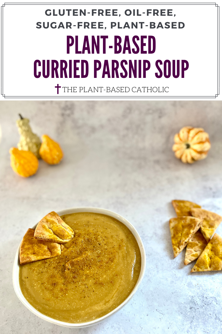 Plant-Based Curried Parsnip Soup