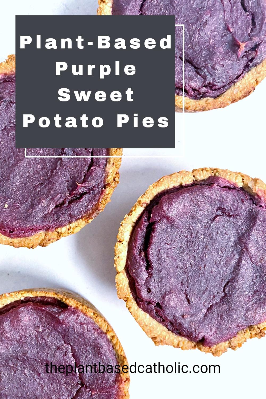 Plant-Based Purple Sweet Potato Pie