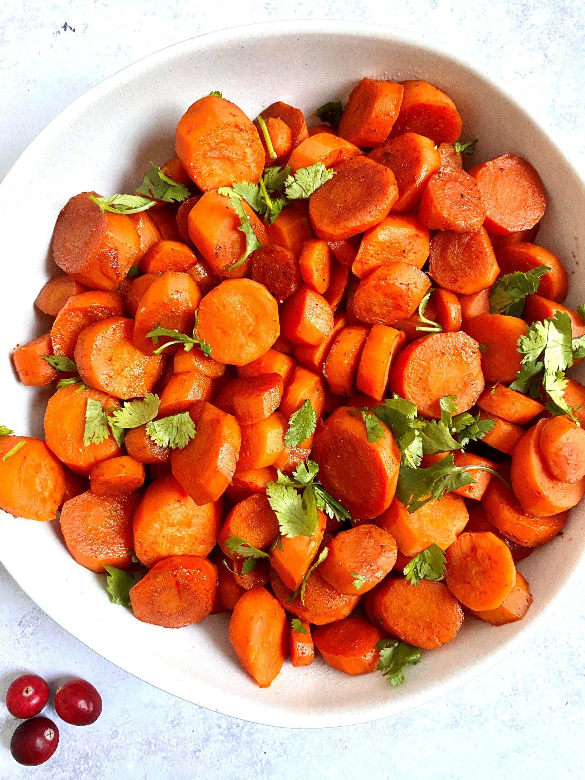 Plant-Based Bourbon Glazed Carrots