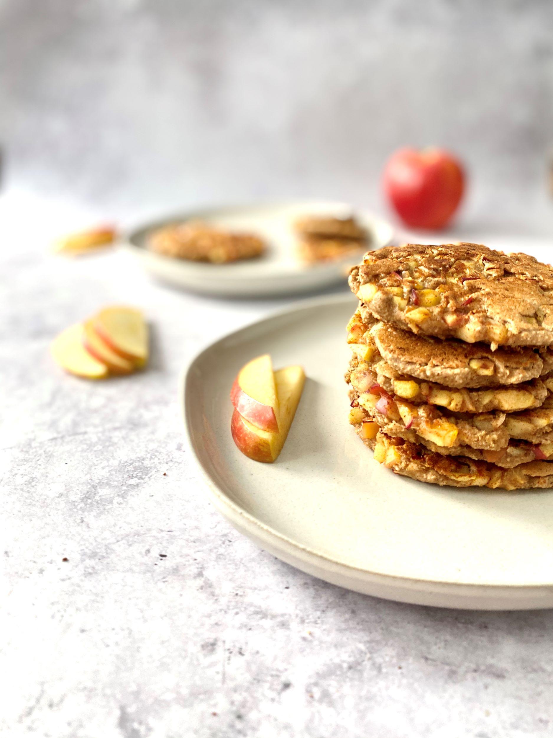 Plant-Based German Apple Pancakes